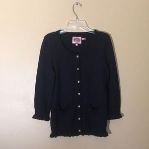 VGUC Juicy Couture Navy Cardigan, Size S